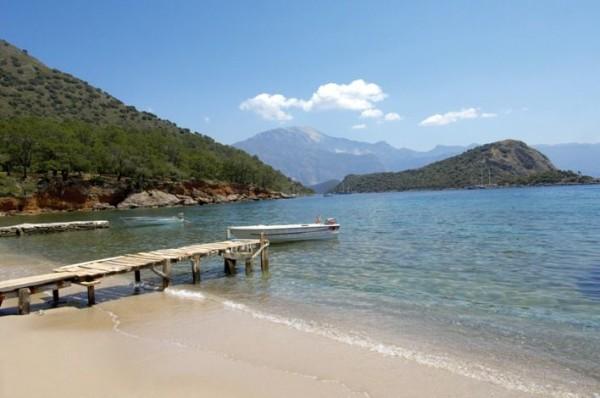 Gemiler beach
