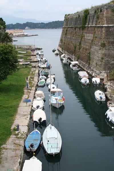 Corfu-town. Fortress