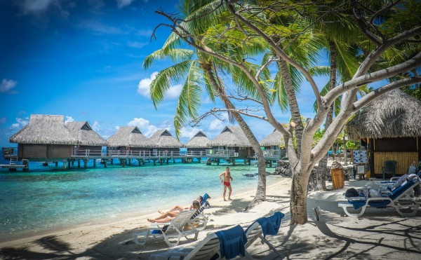 Matira Beach Bora Bora