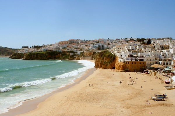 Albufeira, Fishermans beach