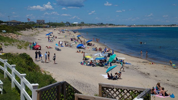 Crescent Beach on Block Island