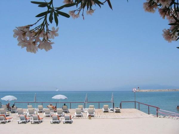 Kusadasi beach